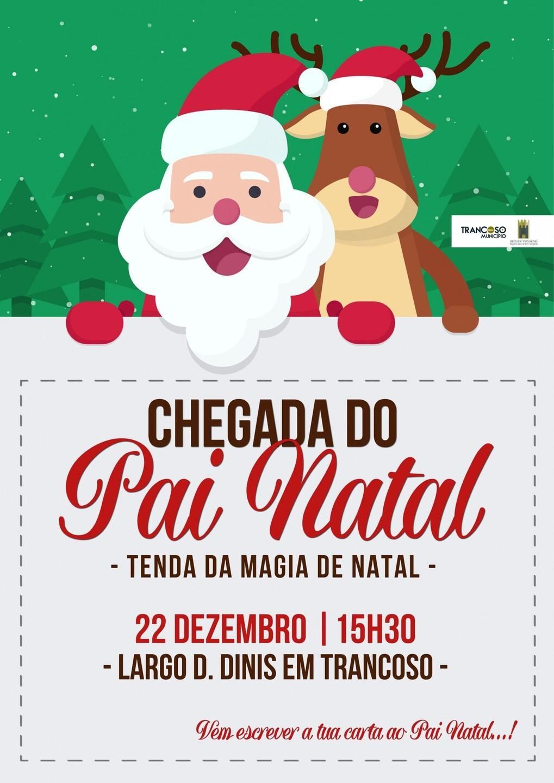 Cartaz Parada de Natal - Município de Trancoso.
