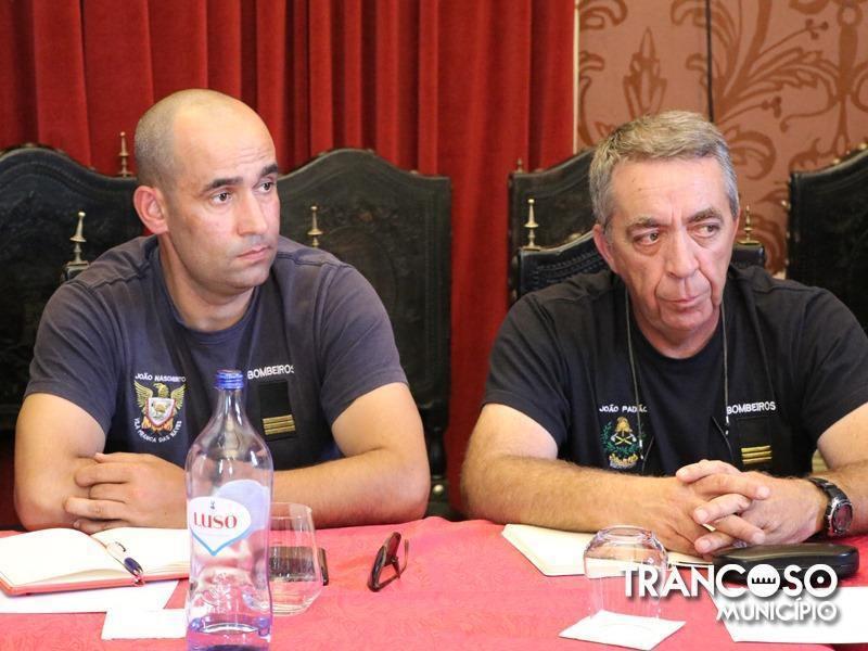 Reunião da Comissão Municipal da Proteção Civil de Trancoso